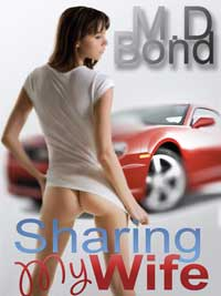 cover design for the book entitled Sharing My Wife