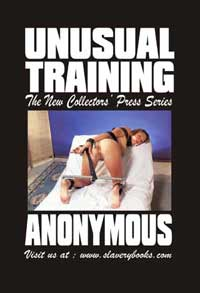 cover design for the book entitled Unusual Training