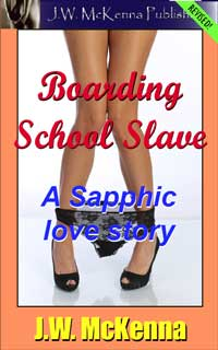 cover design for the book entitled Boarding School Slave