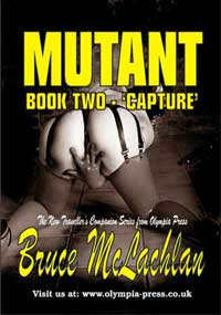cover design for the book entitled Mutant 2: Capture