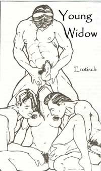 cover design for the book entitled Young Widow