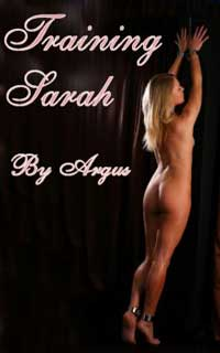 cover design for the book entitled Training Sarah