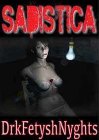 cover design for the book entitled Sadistica