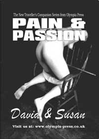 cover design for the book entitled Pain And Passion