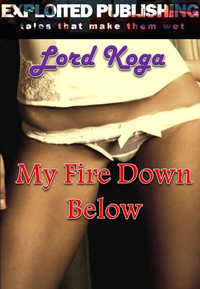 cover design for the book entitled After Club Sixxx: My Fire Down Below