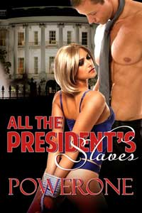 cover design for the book entitled All The President