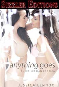 cover design for the book entitled Anything Goes