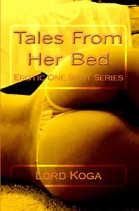 cover design for the book entitled Tales From Her Bed