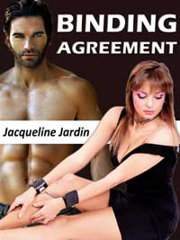 cover design for the book entitled Binding Agreement