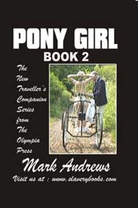 cover design for the book entitled Pony Girl (book Two): Arabia