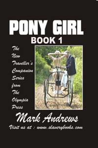 cover design for the book entitled Pony Girl (book One)