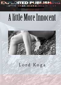 cover design for the book entitled A Little More Innocent