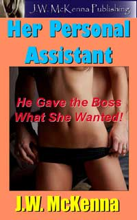 cover design for the book entitled Her Personal Assistant