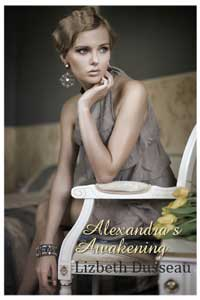 cover design for the book entitled Alexandra