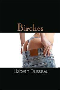 cover design for the book entitled Birches