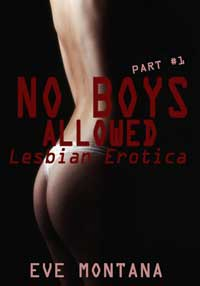 cover design for the book entitled No Boys Allowed - Lesbian Erotica