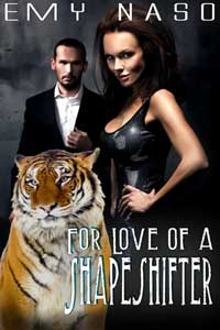 cover design for the book entitled For Love Of A Shape Shifter
