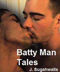 cover design for the book entitled Quickies: Batty Man Tales 1