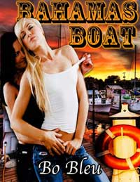 cover design for the book entitled Bahamas Boat