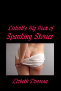 cover design for the book entitled Big Book Of Spanking Stories, Vol. 1