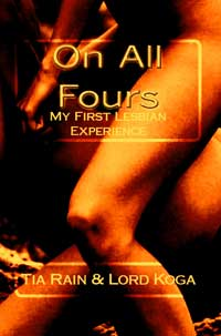 cover design for the book entitled On All Fours