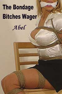 cover design for the book entitled The Bondage Bitches Wager