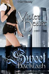 cover design for the book entitled Sweet Backlash