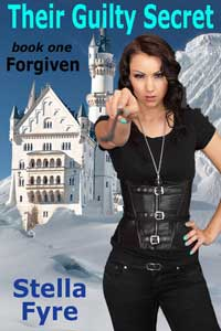cover design for the book entitled Forgiven