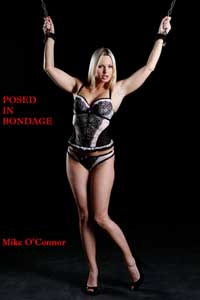 cover design for the book entitled Posed In Bondage