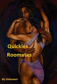 cover design for the book entitled Quickies - Roommates