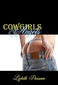 cover design for the book entitled Cowgirls & Angels