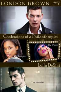 cover design for the book entitled Confessions Of A Philanthropist 2