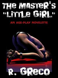 cover design for the book entitled The Master`s `little Girl`