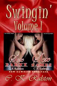 cover design for the book entitled Swingin