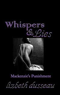 cover design for the book entitled Whispers & Lies