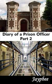 cover design for the book entitled Diary Of A Prison Officer - Part 2