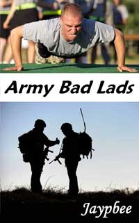 cover design for the book entitled Army Bad Lads