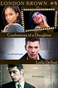 cover design for the book entitled Confessions Of A Daughter 2