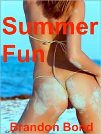 cover design for the book entitled Summer Fun