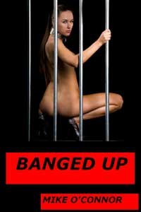 cover design for the book entitled Banged Up