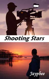 cover design for the book entitled Shooting Stars