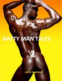 cover design for the book entitled Quickies: Batty Man Tales 2