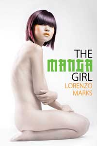 cover design for the book entitled The Manga Girl