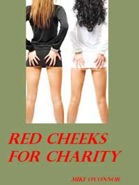 cover design for the book entitled Red Cheeks For Charity