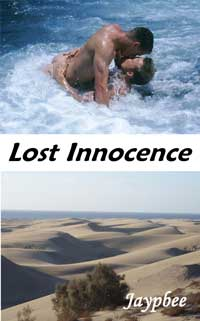 cover design for the book entitled Lost Innocence