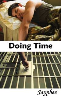 cover design for the book entitled Doing Time