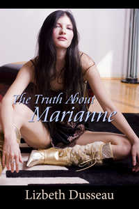cover design for the book entitled The Truth About Marianne