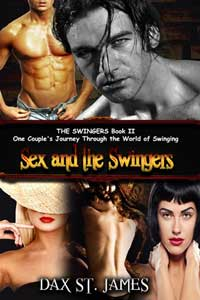 cover design for the book entitled Sex And The Swingers