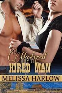 cover design for the book entitled Mastered By The Hired Man