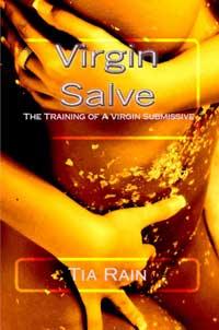 cover design for the book entitled Virgin Slave: